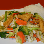U2 Tofu Stir Fried